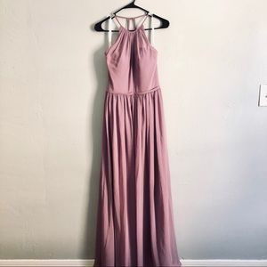 Azazie mauve purple bridesmade Dress